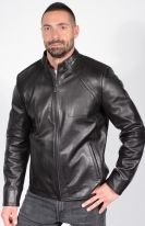 BB70 Full- Grain Leather Jacket
