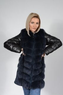 Women's 2 in 1 Fox Coat