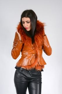 A375 -  WOMEN'S COAT LEATHER