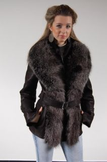 D295 -  WOMEN'S COAT OF LAMBLE LEATHER