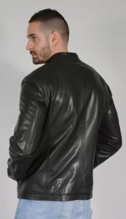 BB10 Calfskin Leather Jacket