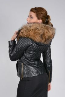A443 - LADIES WHICH LAMBLE LEATHER SKIN