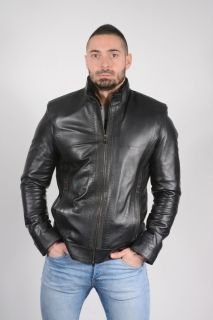 DB14 -  Lambskin Decorative Stitches Jacket