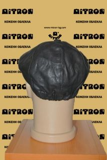 HAT21 -  Men's cap lambskin