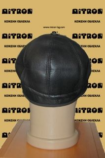 HAT21A -  Men's cap lambskin