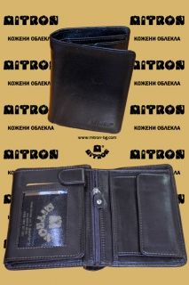 P506 - Men's Lamb Leather Wallet