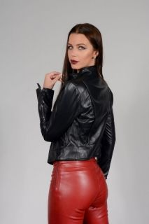 AA116 - LADIES WHICH IS LAMBLE LEATHER
