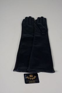 Lady-Long - women's gloves lamb leather