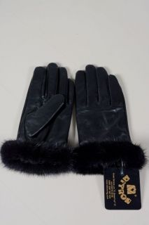 Lady203 -  ladies gloves lambskin and mink