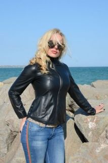 Classic Lambskin Leather Jacket