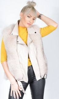 Lambskin 2 in 1 Fox Jacket