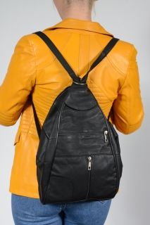 BAG14A Pieces Lambskin Backpack